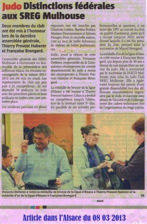judo article journal du 08 03 2013