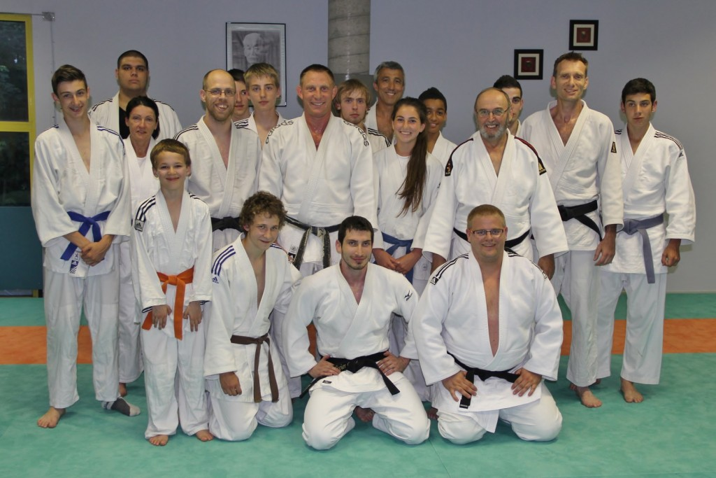 Promotion d'une ceinture noire 3e Dan au Judo club SREG Mulhouse